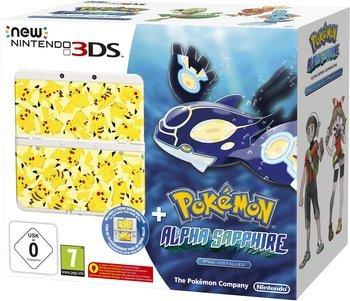[lokal? Kaiserslautern] MediMax New Nintendo 3DS inkl. Pokémon Alpha Saphir und Pikachu Wechselcover