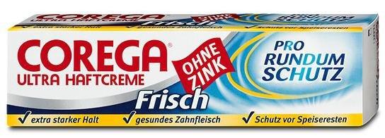 """Corega Haftcreme """"Frisch"""" GRATIS testen bis 31.12.2015 + Portoerstattung"""