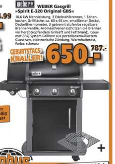 lokal globus braunschweig weber spirit e 320 original black gbs 650. Black Bedroom Furniture Sets. Home Design Ideas