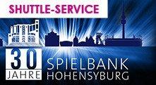 [Dortmund] 30 Jahre Spielbank Hohensyburg - Tag der offenen Tür am 28. 6. 2015 11-24 Uhr inkl. kostenlosem Shuttle-Service