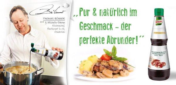 GRATIS MUSTER KNORR Professional Flüssige Bouillon Rind