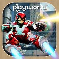 """[ios] Spiel für Kinder: """"Playworld Superheroes"""" (zuletzt 3,99€)"""