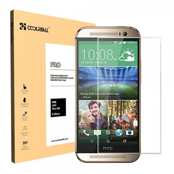 [Amazon.de] HTC One M8 Panzerglas kostenlos von Coolreall