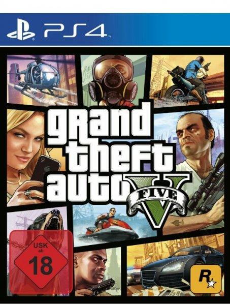 GTA V (Grand Theft Auto V) , PS4 @Amazon