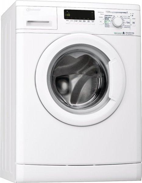 50% bei Amazon Bauknecht WA PLUS 634 Waschmaschine Frontlader / 2+2 Jahre Herstellergarantie / A+++ / 1400 UpM / 6 kg / Weiß / Startzeitvorwahl / 15-Minuten-Programm / Farbprogramme [Energieklasse A+++]