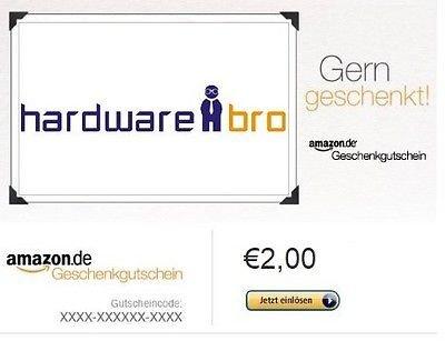 2 € amazon GS für 1 €@ eBay