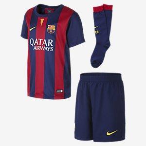 FC Barcelona Stadium 2014/15 Kinder Fußballtrikotsatz für 27,75 € @Nike