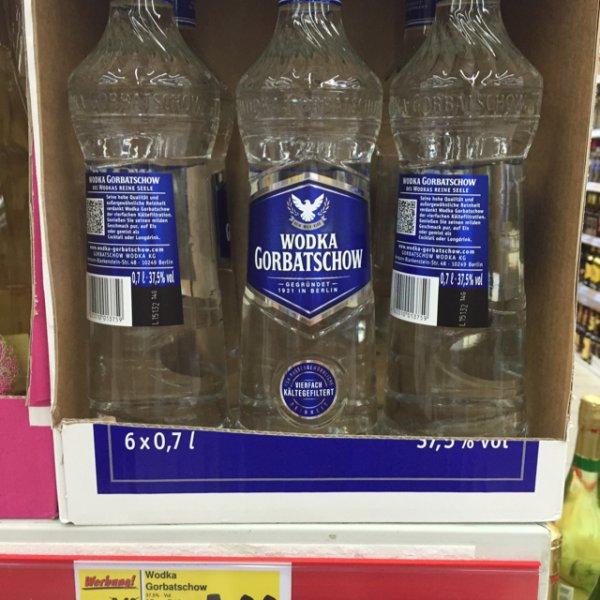 Wodka Gorbatschow (Kaufland)