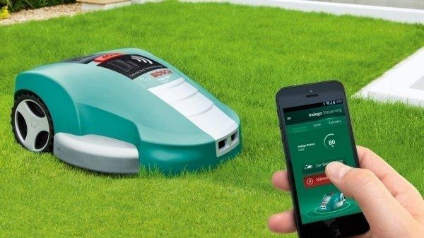 [Online bei Schreck.at]  Neuer Online Bestpreis: Bosch Indego 1200 Connect Rasenmähroboter
