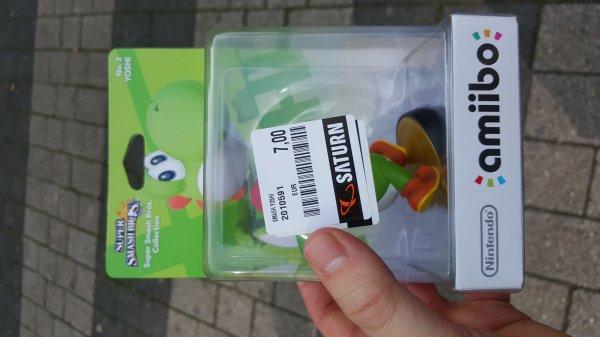 (lokal Saturn Wuppertal) Super Smash Bros. Yoshi amiibo