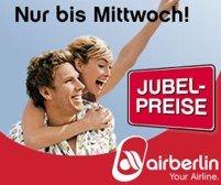 Neue Flugangebote - Air Berlin Jubelpreise (innerdeutsch und Europa für 29€ pro Strecke) *UPDATE3*