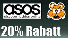 20% ASOS Gutschein auch auf reduzierte Ware