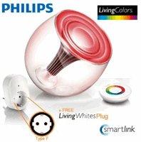 Philips LivingColors Gen 2 (mit Smartlink) + Adapter zur fernbedienbaren Dimmung normaler Lampen für 81€ und 5% Cashback