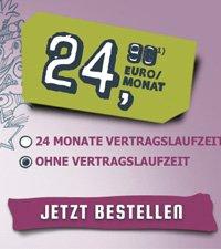 Yourfone: Einen Monat lang in alle Netze telefonieren und surfen für 1€ oder für 25€ mit 55€ Cashback *UPDATE*