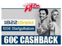 1822direkt - kostenloses Girokonto mit 100€ Bonus und 60€ Cashback *UPDATE*