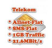 Nochmal günstigere D1 Allnet-/SMS-Flat und 1GB Traffic (21,6 MBit/s) durch original Telekom Vertrag mit Partner-SIM *UPDATE2*