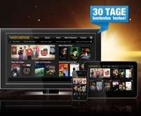 30 Tage Watchever kostenlos oder 3 Monate für 9€ - Video on Demand Service *UPDATE