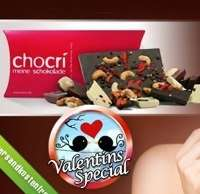 40€ Chocri Gutschein für 20€ - Schokolade mit euren Wunschzutaten