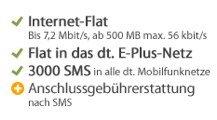 Talkline - BASE-, SMS-, Internet-Flat für effektiv 1,99€ pro Monat *UPDATE*