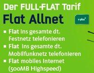 mobilcom-debitel (E+) Allnet-Flat inkl. Internet-Flat ab effektiv 10€ / Monat