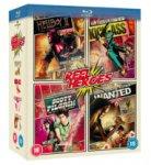 Wanted / Kick-Ass / Scott Pilgrim Vs. The World / Hellboy 2 [Blu-Ray] für ~13€
