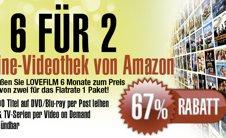 6 Monate Lovefilm für 19,50€ - nur für Neukunden *UPDATE*