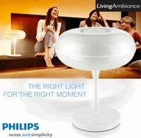 Philips White LivingAmbience Tischlampe inkl. Smart Link für 133€ *UPDATE*