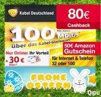 Seit langer Zeit mal wieder Kabel Deutschland mit 160€ Prämie *UPDATE*