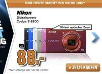 Nikon Coolpix S6200 (rot oder blau) ab 77€ - Kompaktkamera *UPDATE*