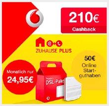 Vodafone DSL (16Mbit/s) ab effektiv 14,50€ pro Monat *UPDATE*