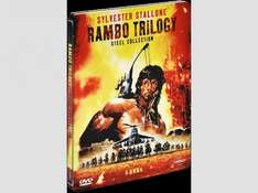 [Saturn Österreich] Rambo Trilogy Steel DVD Collection**Uncut**[ 6DVD´s ] für 17,-€ inc.Versand