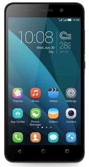 Honor 4X (5,5 Zoll) LTE DUAL-SIM, Micro-SD, HD-Display, Octa-Core, Android 4.4 schwarz (Amazon WHD - sehr gut)