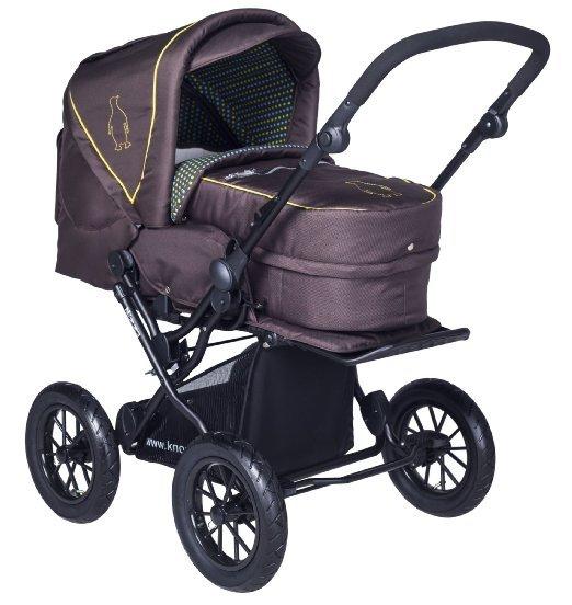(Amazon Prime wie neu) knorr-baby 706915 Kombi-Kinderwagen Nizza, braun