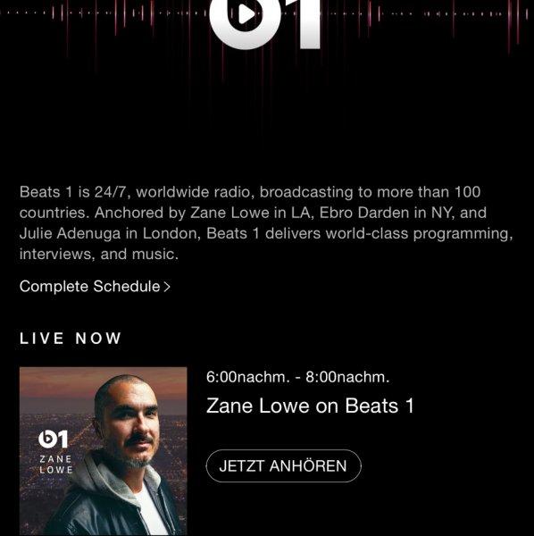 Apple Musik  3 Monate kostenlos !