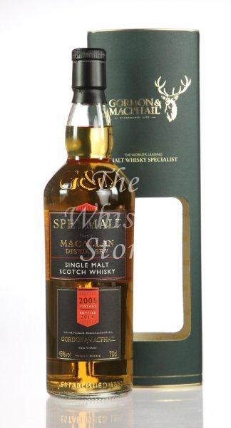 [Whisky] Macallan Speymalt 2005/20014 (Gordon & Macphail)