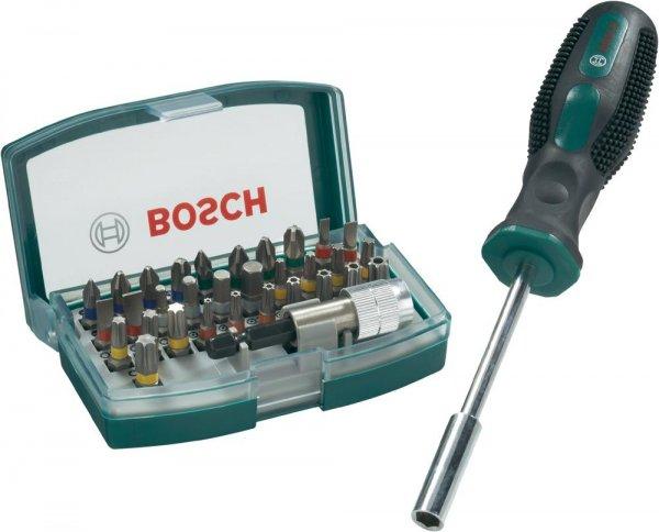 Bosch 32-tlg. Bit-Set + Bithalter-Schraubendreher Versandkostenfrei für 10,79€ @ SMDV