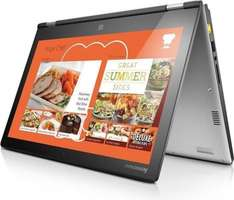 [Notebooksbilliger.de] Lenovo IdeaPad Yoga 2 13, schwarz, Intel Core i3-4030U, RAM: 8GB, 500GB HDD, Win 8.1 64bit