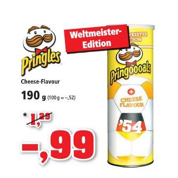 [THOMAS PHILIPPS] KW28 Pringles - Pringoooals Cheese Flavor 190g für 0,99€