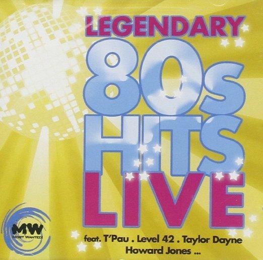 Amazon Prime : CD Sampler - Legendary 80s Hits-Live   u.a. Level 42, T'pau , Dionne Warwick für  1,69 €