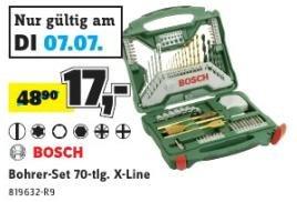 Bosch X-Line Titanium Set 70-tlg. für 17€ @Conrad Filialen