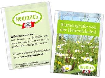 """Heumilch Alm - Blumensamen kostenlos """"Die Artenvielfalt braucht dich!"""""""
