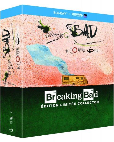 2x Breaking Bad - Die komplette Serie (Blu-ray) Ralph Steadman Edition (OT) für 73,41€ @Amazon.fr