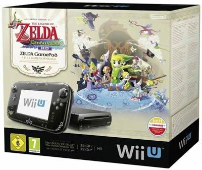 [Ebay] Nintendo Wii U Premium + Zelda: The Wind Waker HD (DLC) WOW für 239,90€ Versandkostenfrei