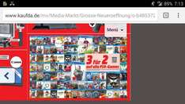 Media Markt Erfurt eröffnungsangebot alle Ps4 Games Kauf 3 Zahl 2