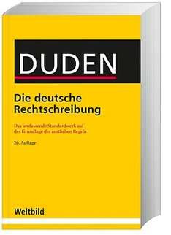 DUDEN - Die deutsche Rechtschreibung (Buch) für 14,99€ @Weltbild.de