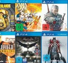 [MediaMarkt Backnang bei Stuttgart] PS4 Games für 39€ u.a. The Witcher 3, Bloodborne, Project Cars, Batman: Arkham Knight