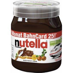 [Metro] nutella 450 gr mit 1-Monat-Bahncard für 1,70