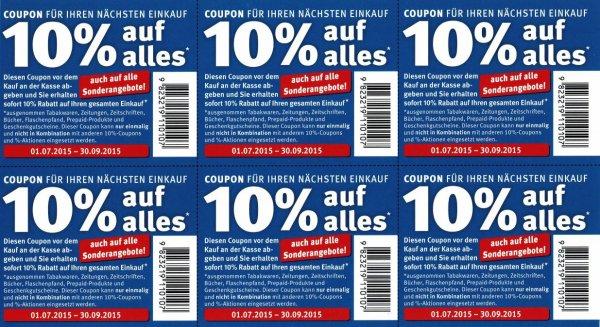 [UPDATE3] [BUNDESWEIT] Verschicke kostenlos 50.000+ Rossmann 10% Coupons gültig bis 30.09.2015