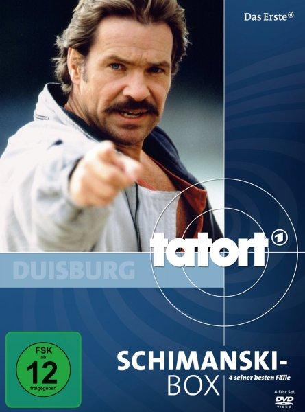 Tatort: Schimanski Box (DVD) für 9,99 Euro (Beste Fälle)