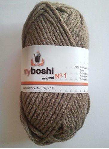 Amazon Marketplace: 10 x 50  gr myboshi original No.1 Wolle verschiedene Farben für 5,89 Euro
